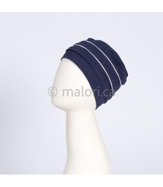Bonnet softie avec rayures